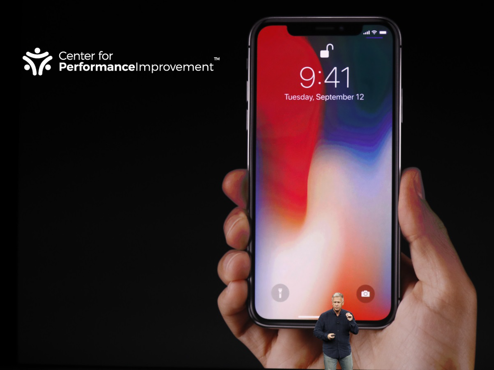 THE CENTER FOR PERFORMANCE IMPROVEMENT IPHONE X SWEEPSTAKES. - Subscribe now for a chance to win!