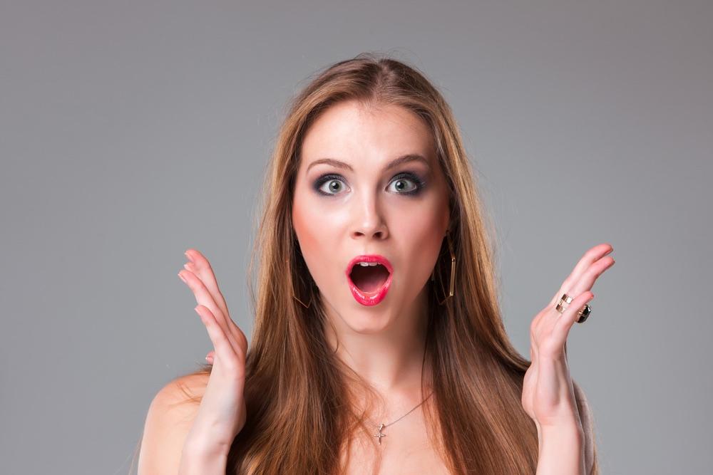 Русская девушка удивлена большим размером члена онлайн