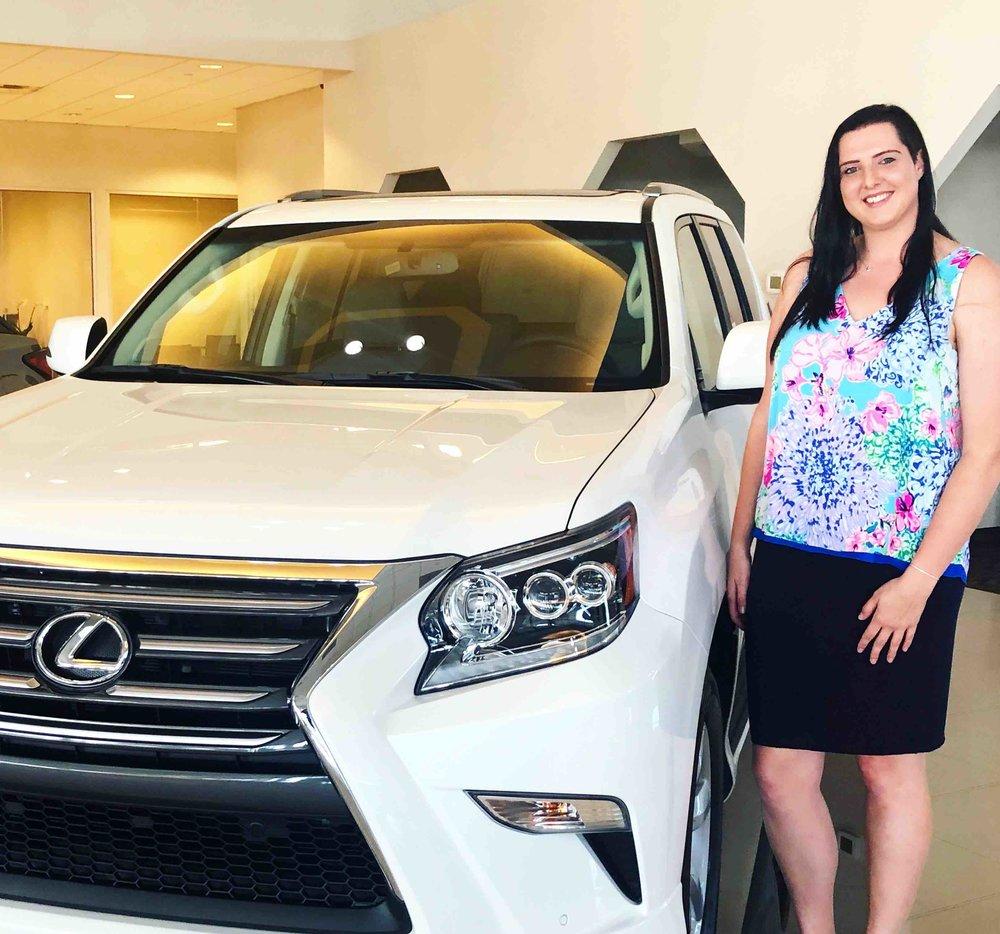 Daphne Hecko: Automotive Sales at Treasure Coast Lexus