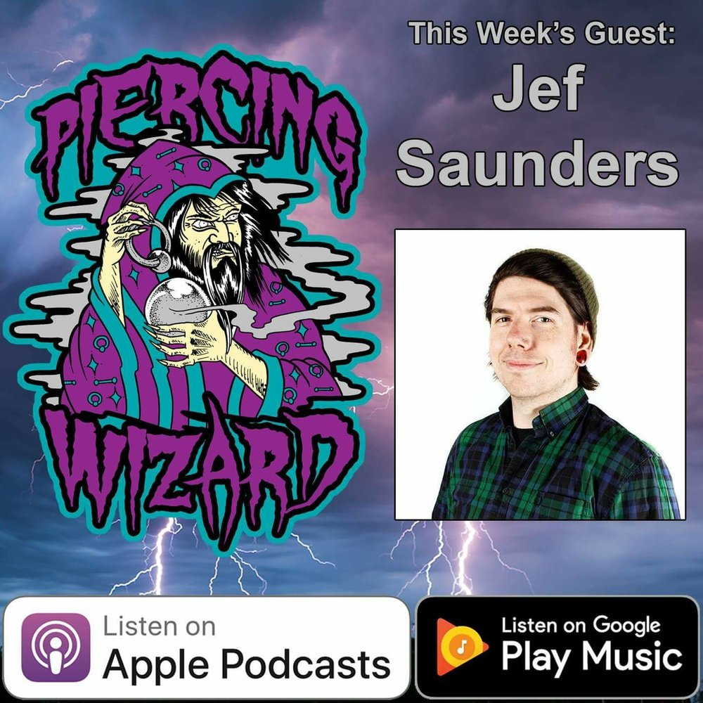 The Piercing Wizard Podcast - While teaching in Brazil, our piercer Jef sat down with Ryan Ouellette (Precision Body Arts, Nashua NH).  Ryan interviewed Jef about piercing education, daith piercings, and of course Gamma Piercing!