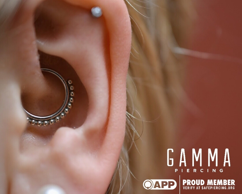 Daith Piercings and Migraines — GAMMA PIERCING