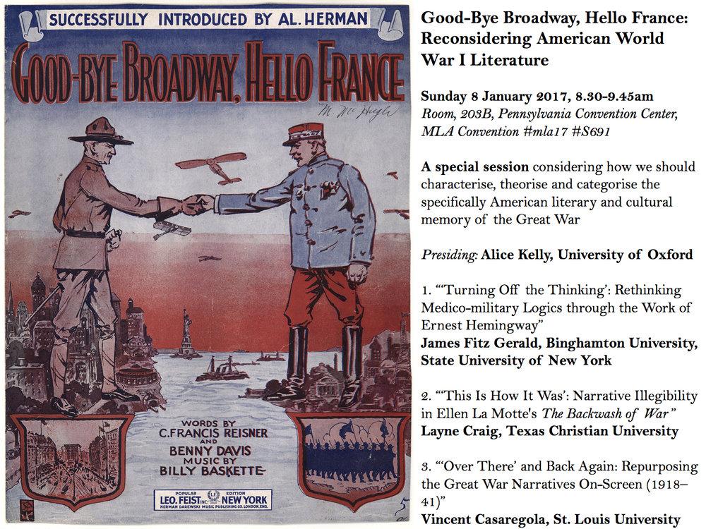 Goodbye Broadway, Hello France Poster.jpg