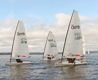RS Aeros at Frigid Digit. Photo: xssailing.com