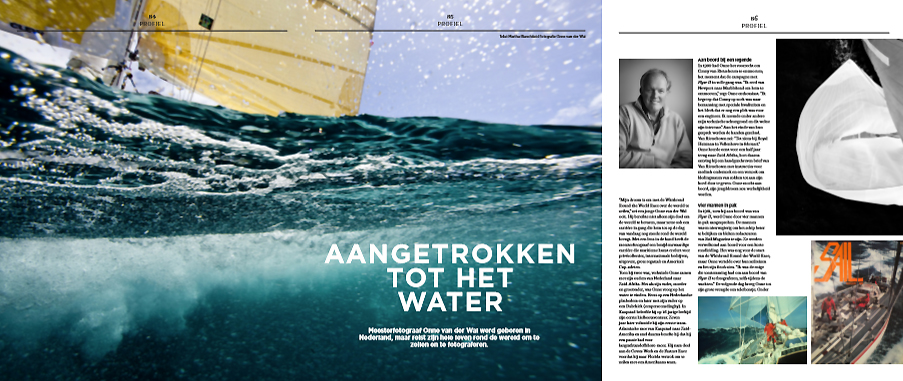 As appearing in the July issue of  Nautique , a Netherlands sailing lifestyle publication.