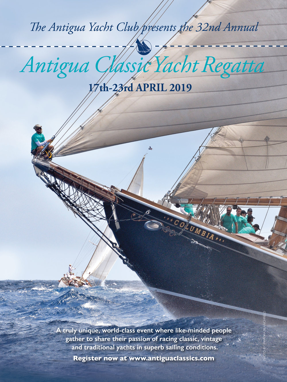 Wooden Boat  magazine is running this advert, and the image landed on the cover of the 2019 programme.