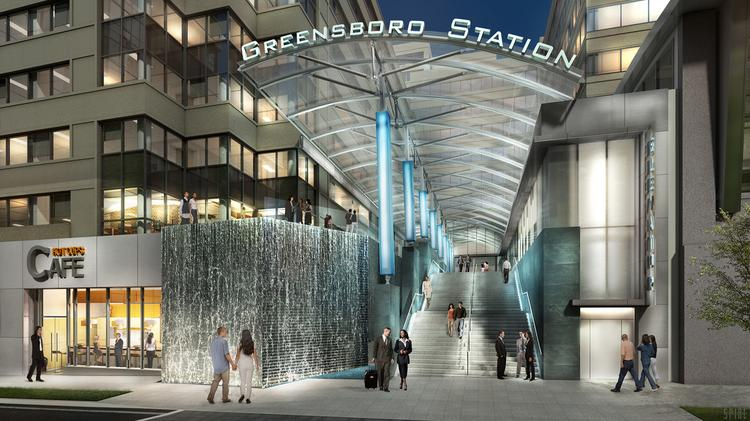 the boro metro entrance