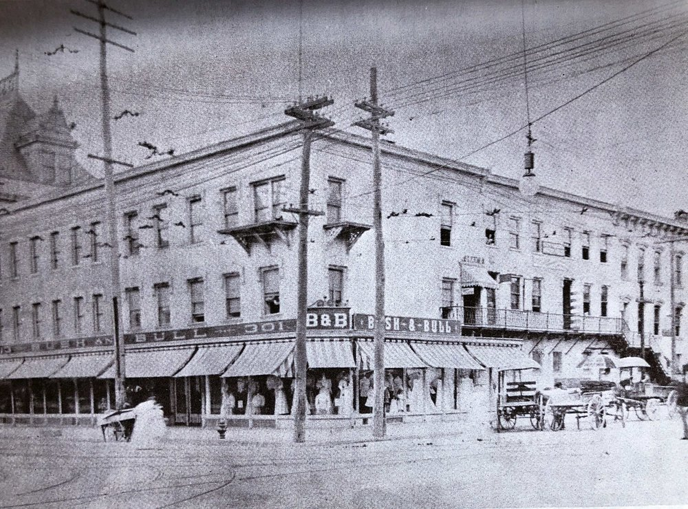 The Bush&Bull Department Store in Easton Center Circle, 1906