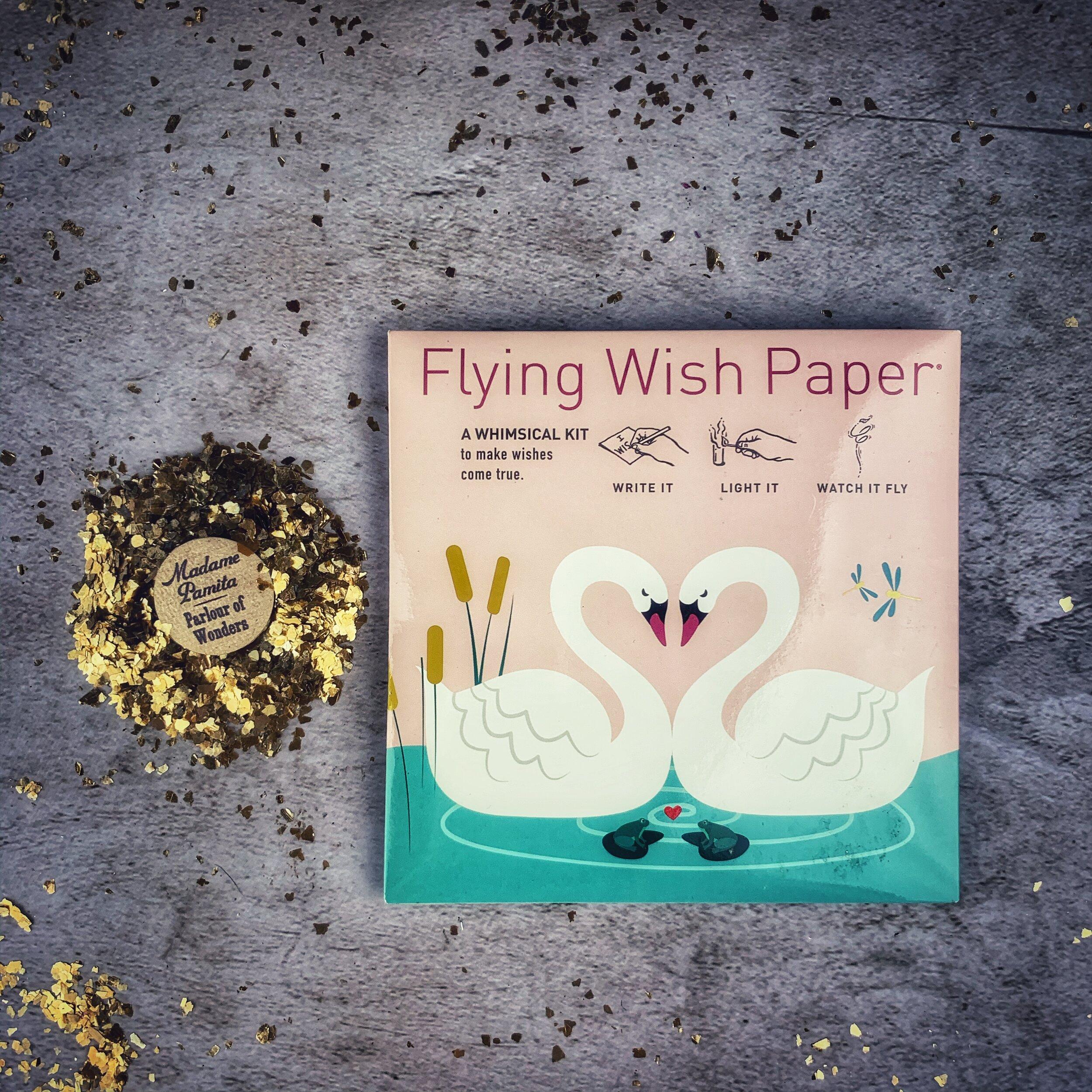Flying Wish Paper Swan Lake Love Mini Kit — Madame Pamita's Parlour of  Wonders