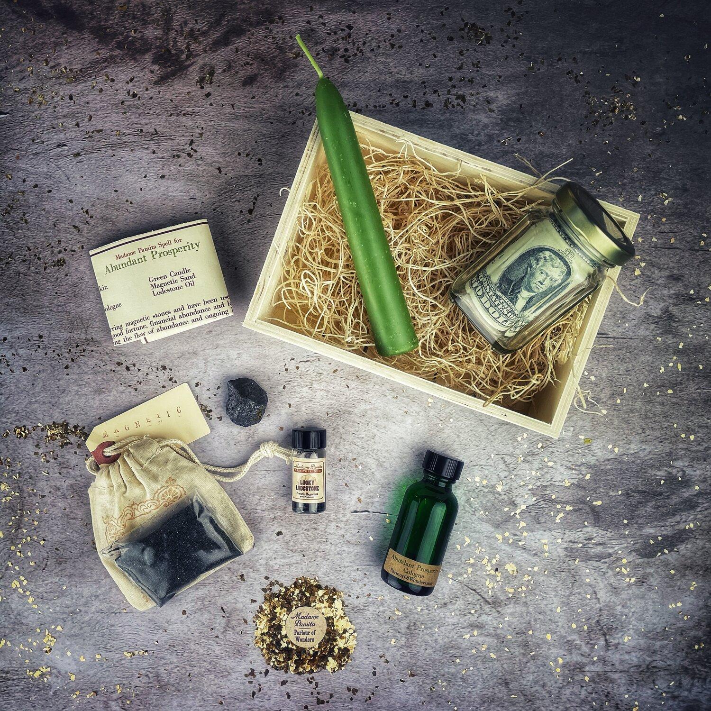 Abundant Prosperity Spell Kit — Madame Pamita's Parlour of Wonders