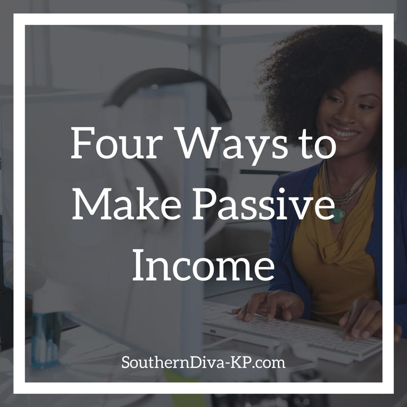 Four Ways to Make Passive Income IG