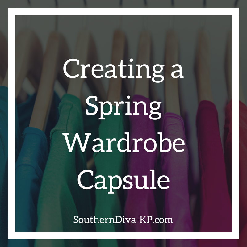 Creating a Spring Capsule Wardrobe