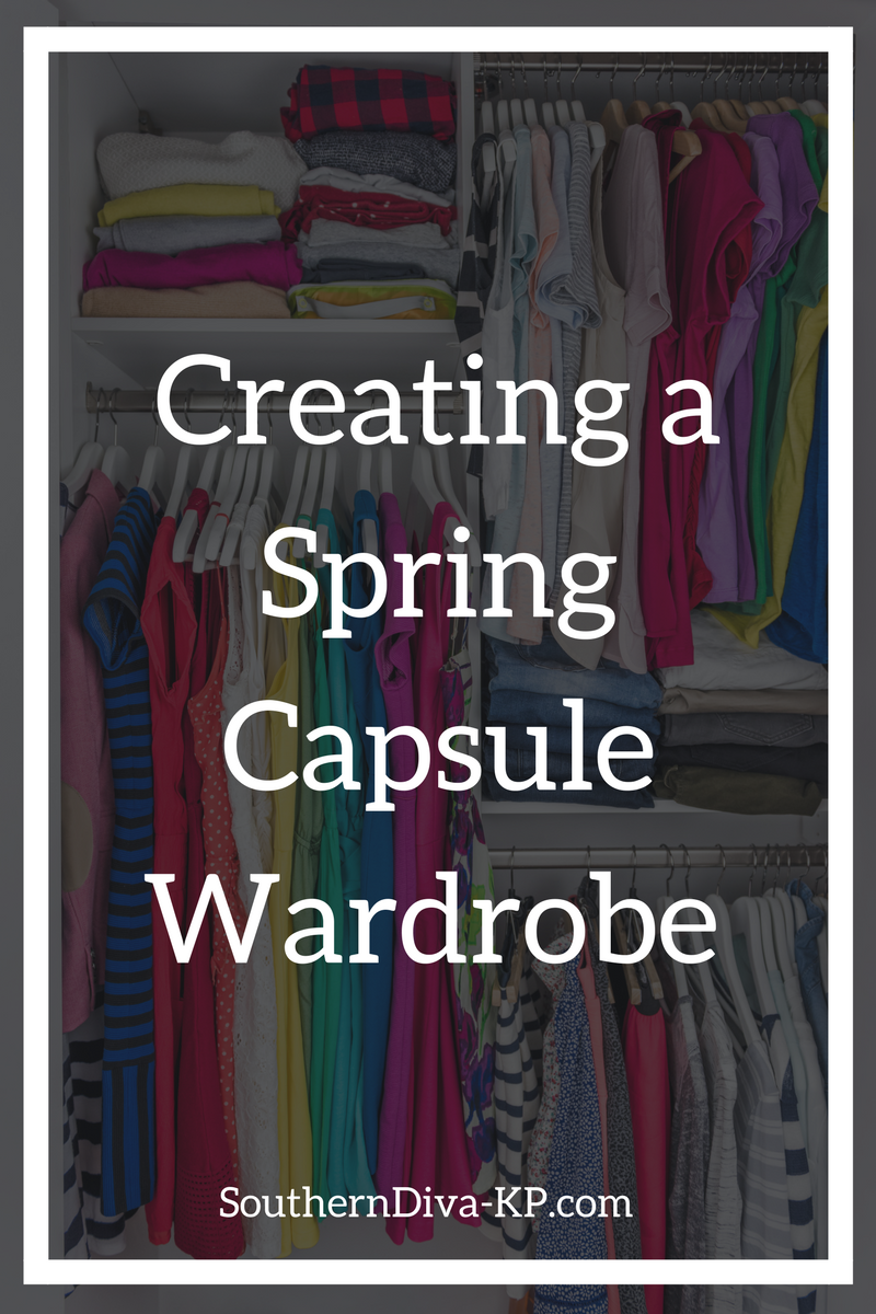Creating a Spring Wardrobe Capsule