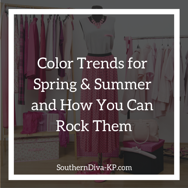 Color Trends for Spring & Summer IG