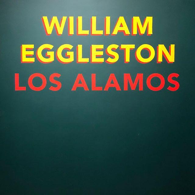 William Eggelston at the Met