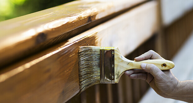 Exterior Wood Stains, Preservatives & Finishes