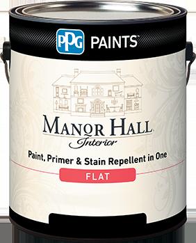 MANOR HALL® INTERIOR LATEX PAINT