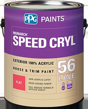 SPEED CRYL™ EXTERIOR LATEX HOUSE & TRIM PAINT