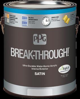 BREAK-THROUGH!® INTERIOR/EXTERIOR PAINT