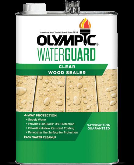 WaterGuard® for Wood Waterproofing Sealant Clear