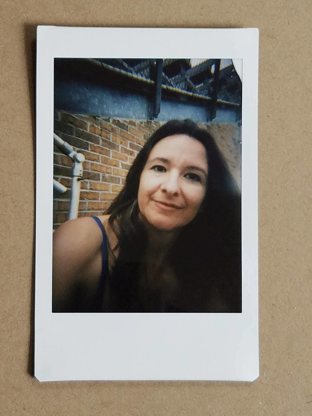 Quick selfie with the LomoInstant