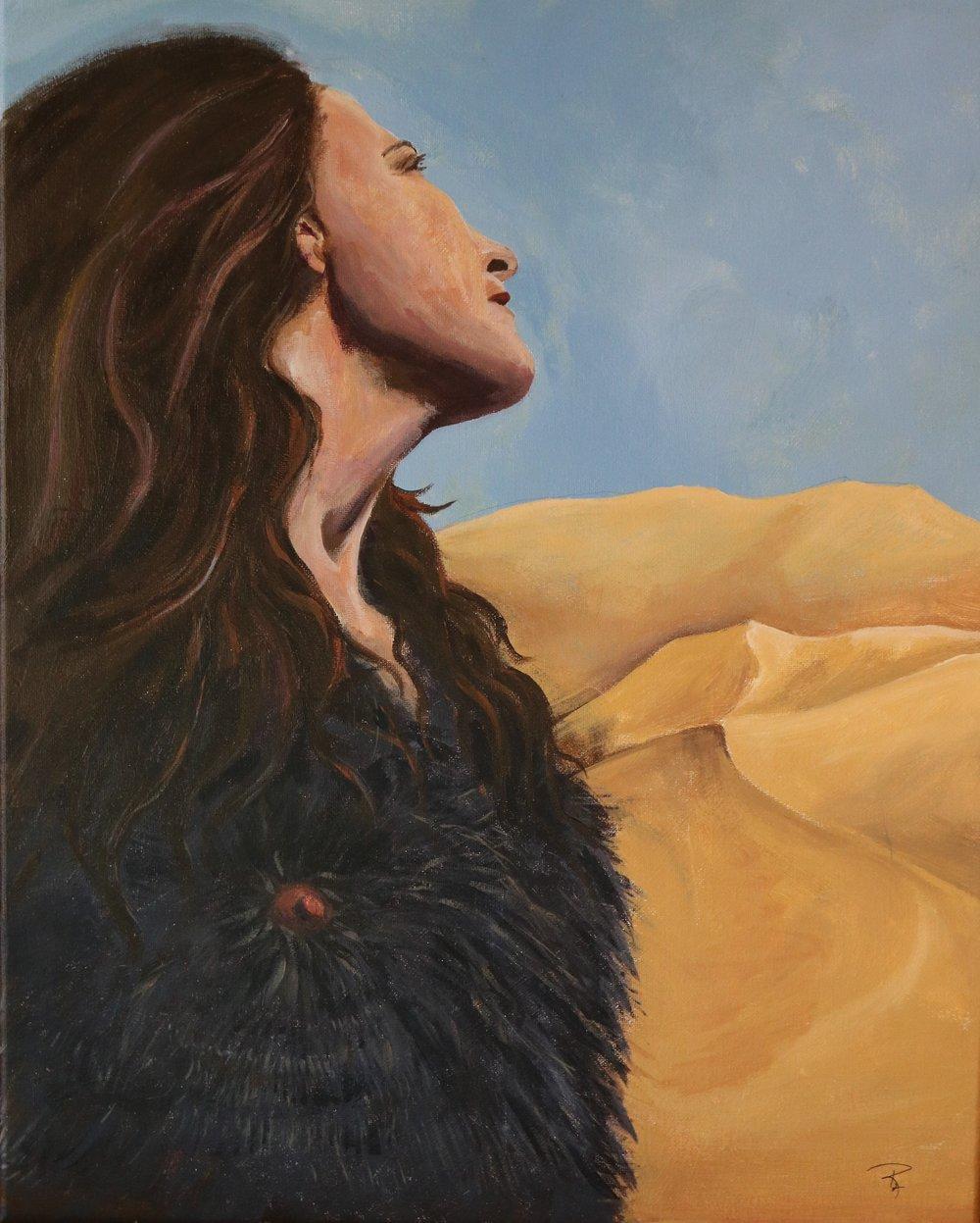 Mary in the Desert, Rachael Padilla, 2018.