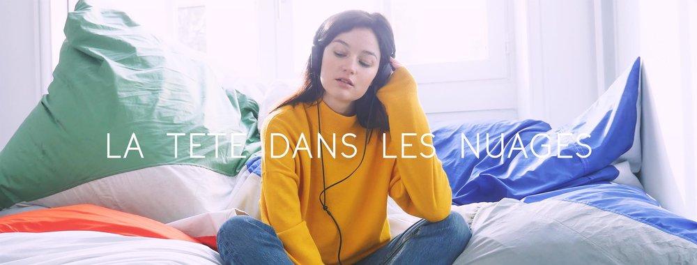 Campagne Image La Tête Dans Les Nuages