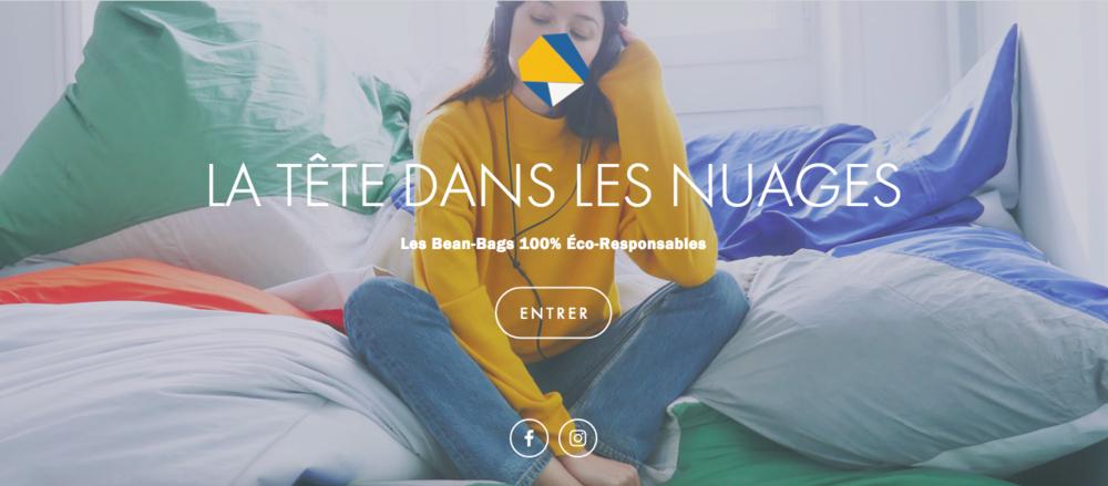 Site web marchand : La Tête Dans Les Nuages