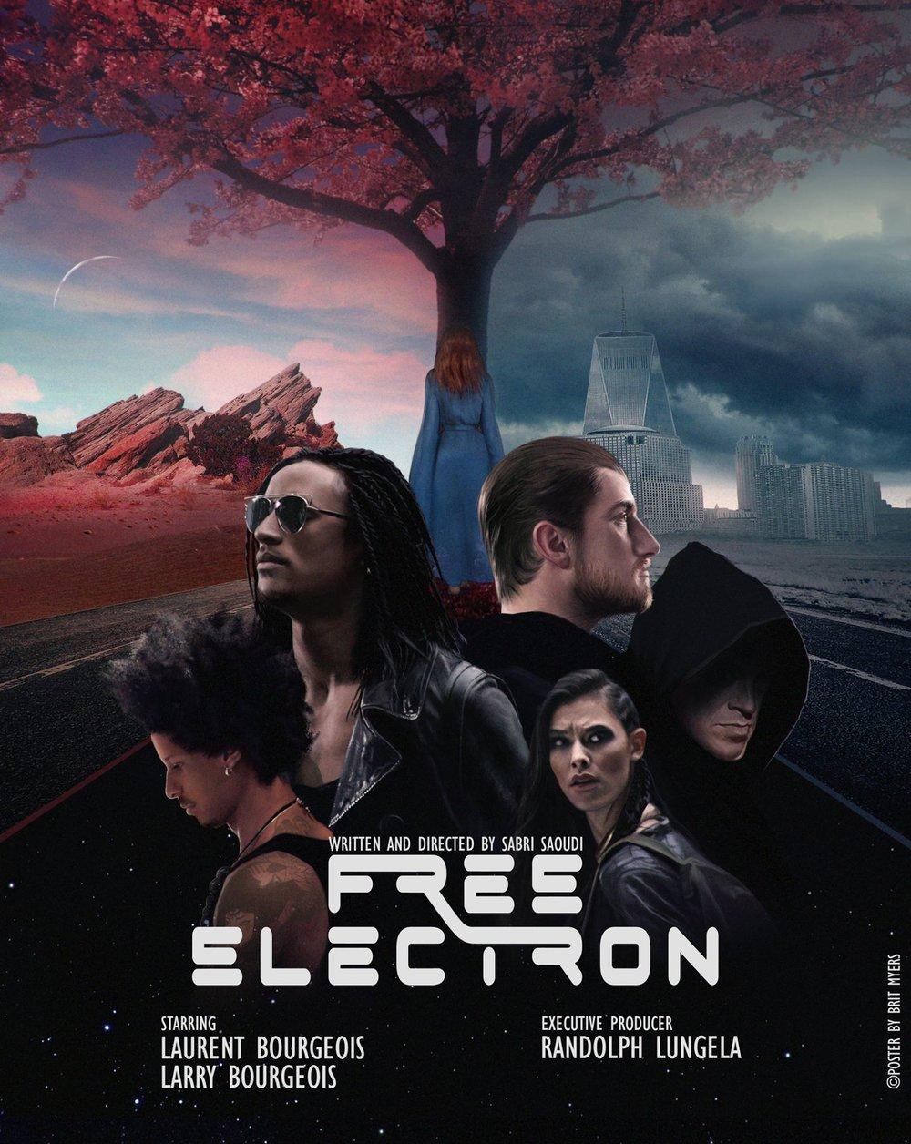 Free Electron Saison 1  - Poster officiel par Brit Myers ©