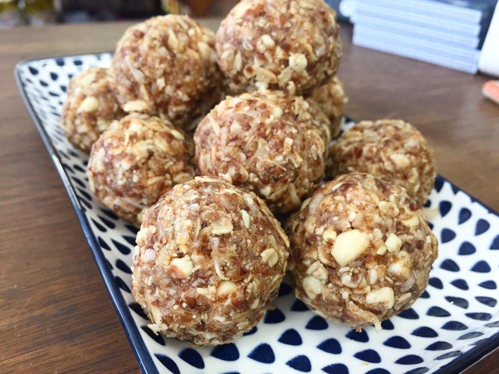 LSA Peanut Butter Energy Ball