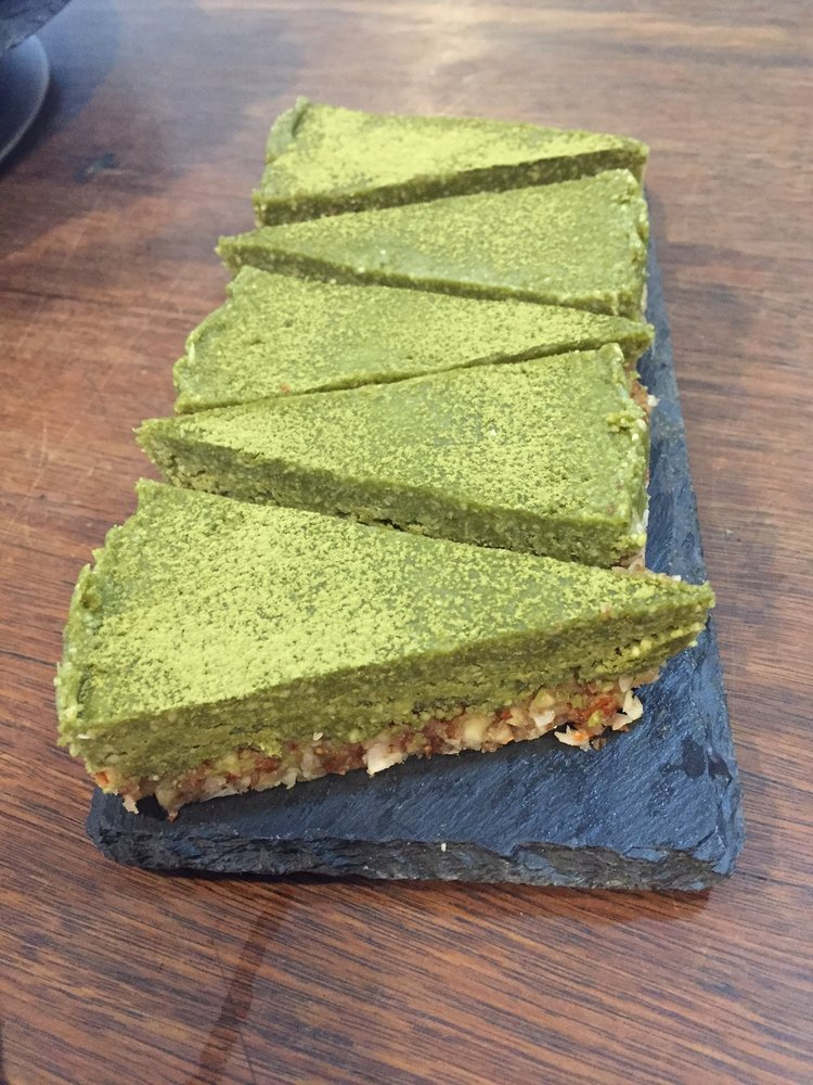 Raw Matcha Slice
