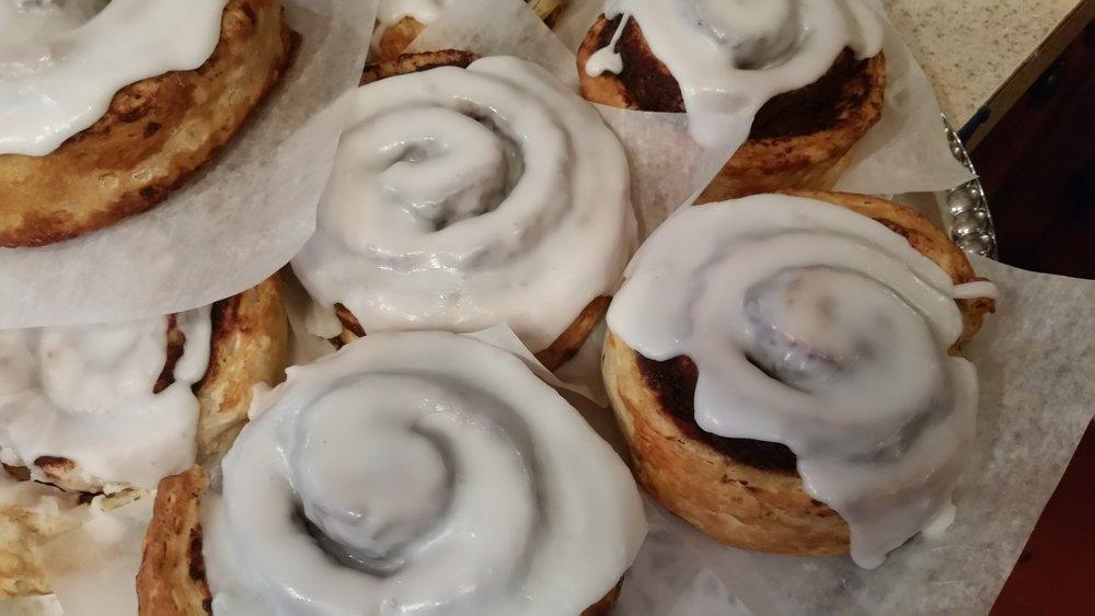 Cinnamon Rolls, people break diets for these ya'll