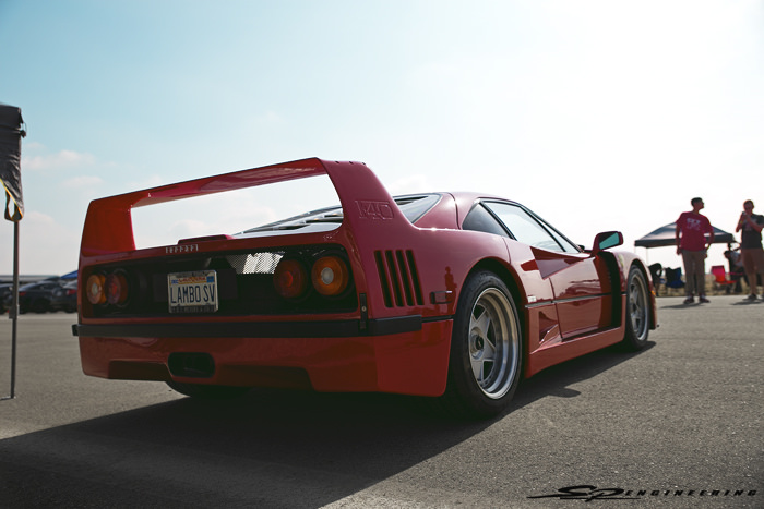 But I don't think anything will EVER be as cool as an F40.  Disregard the license plate, though.