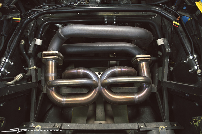 … While the TiTek full titanium exhaust weighed in at an impressive 5.5 lbs.