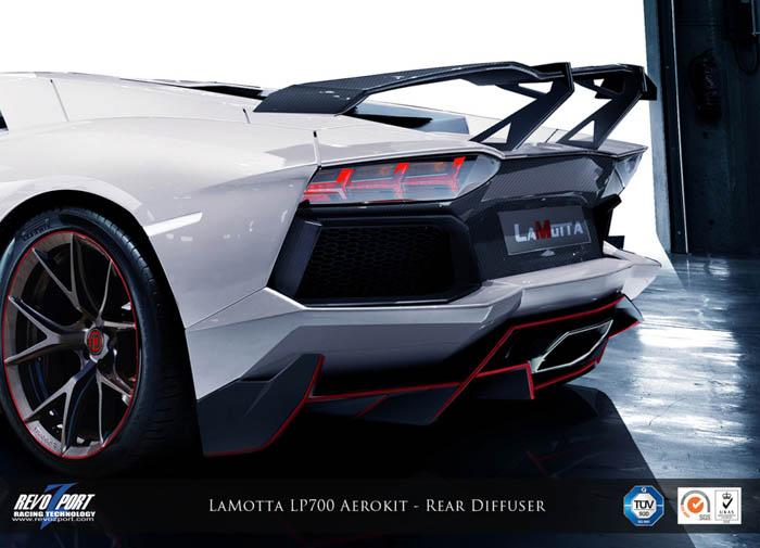 • LaMotta Rear Diffuser