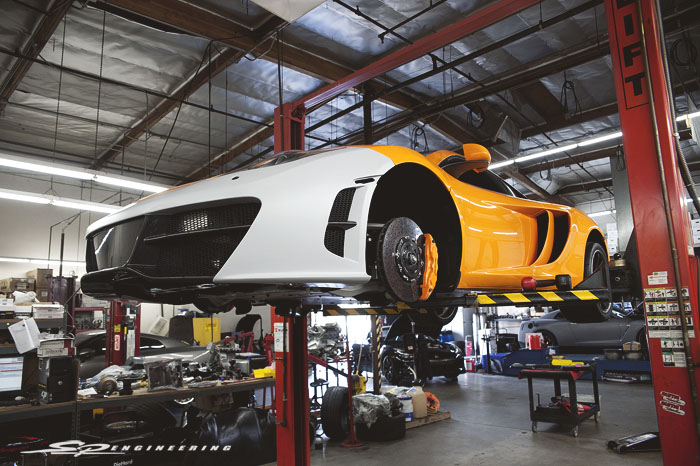 Everything was made in-house at RevoZport's facility in Hong Kong and sent to us for test fit.