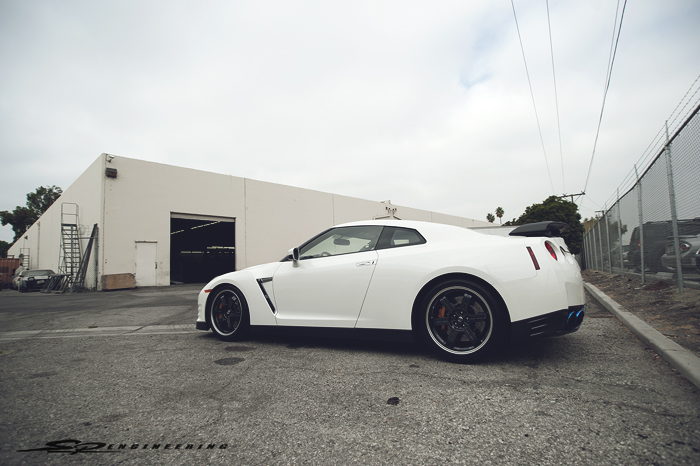We've recently received a handful of brand new off-the-lot 2014 GT-R's to be torn down for more power.  This Black Edition here is for a customer in Dubai.