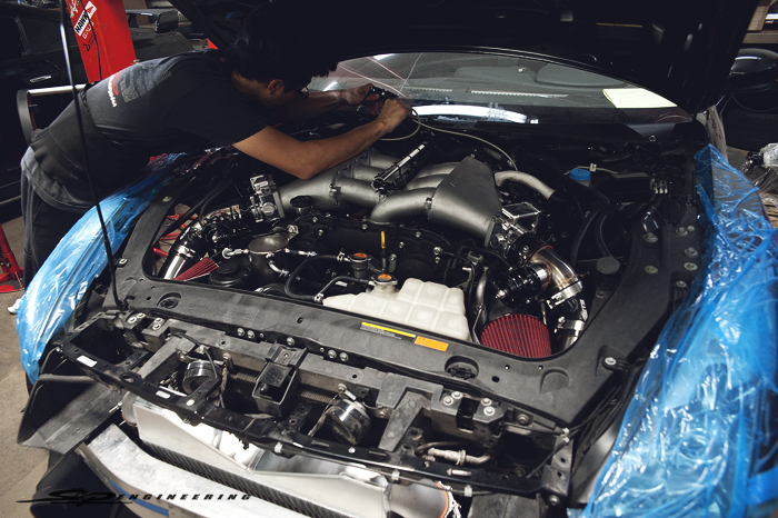 Setting up MoTeC's M1 ECU.  For those of you new to MoTeC, MoTeC released their PNP ECU kit for R35 GT-R's earlier this year.  The ECU is a fully programmable replacement for the factory ECU.  There is absolutely no re-wiring necessary and retains the original sensors and fuel system.