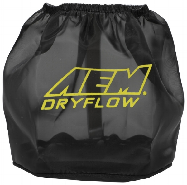 "AEM's ""Dryflow"" shield used to help prevent hydrolocking caused by an aftermarket intake"