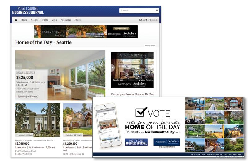 Puget Sound Business Journal Home of the Day