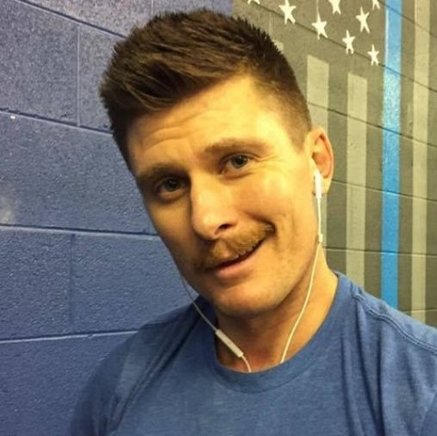 As well as being a massage therapist I am also a level one CrossFit trainer and I coach here locally at CrossFit Paladin, Where once a year I lose our November mustache growing competition.