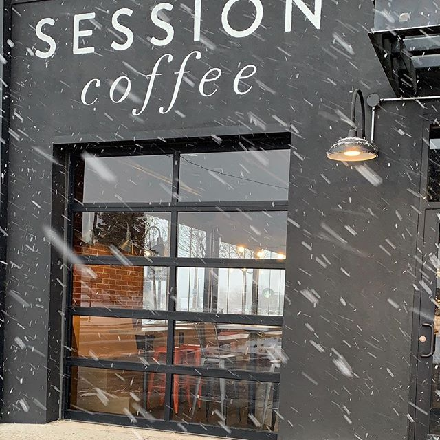 Come drink coffee and talk snow flakes.  #soweathery