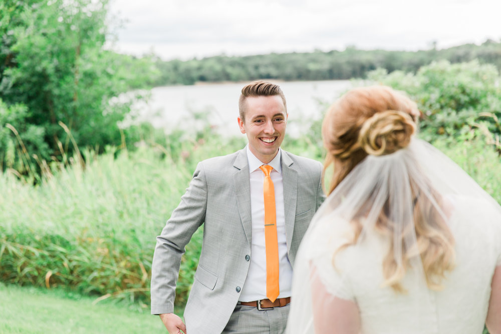 Minnesota Wedding Photographer| Sierra & Jacob | LDS Photographer | Fine Art | First Look |Eden & Me Photography