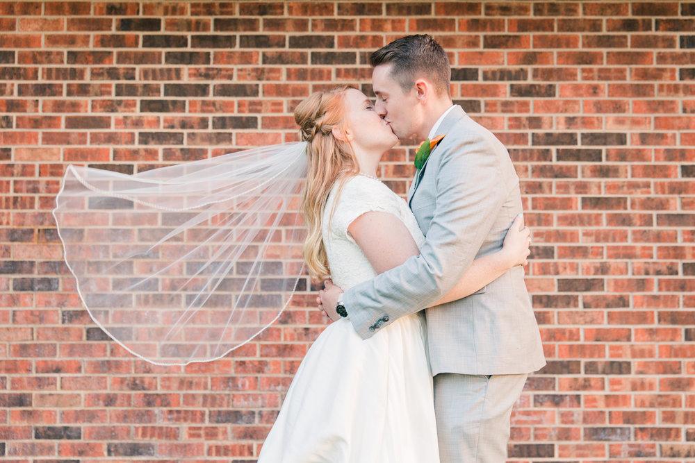 Minnesota Wedding Photographer| Sierra & Jacob | LDS Photographer | Fine Art | Veil | Eden & Me Photography