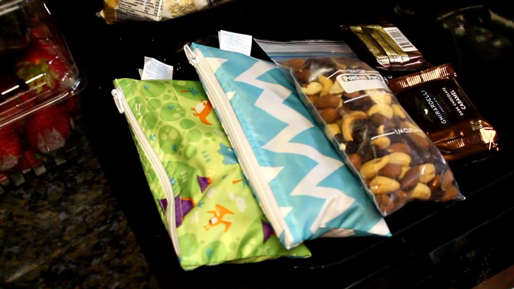Roadtrip - pre portioned snacks