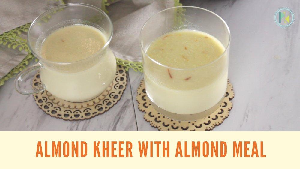 Badam kheer in instant pot