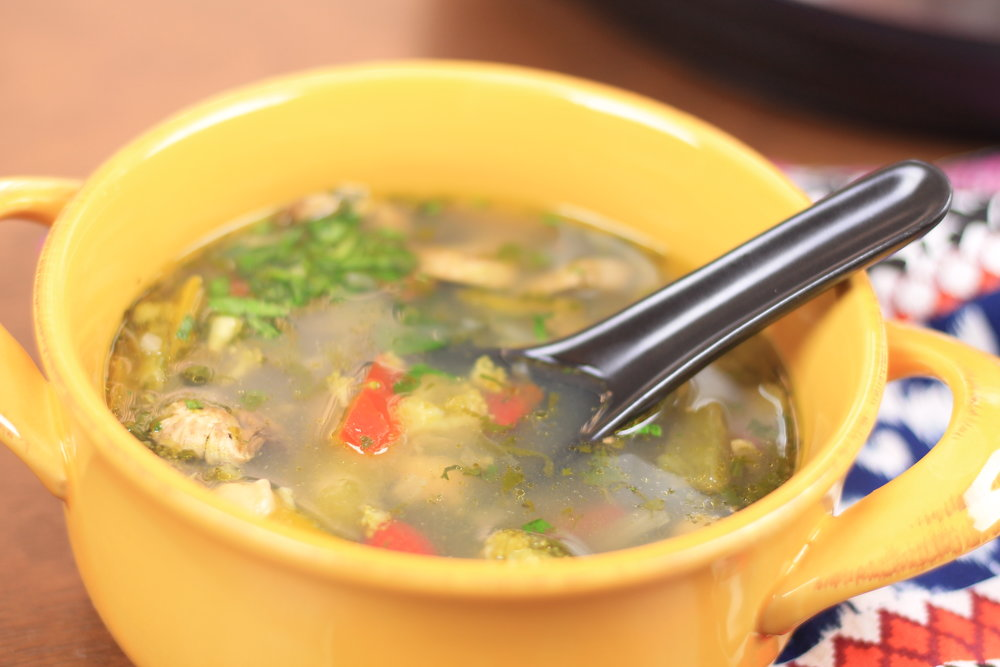 lemon coriander soup