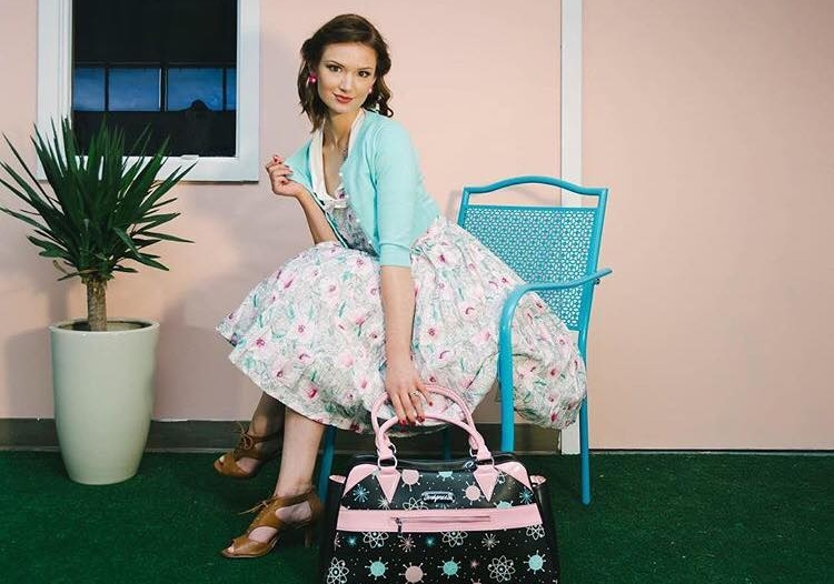 Katy's poem #WOMANHOOD  Artist, Thayne Jongeward for  RockRose Boutique
