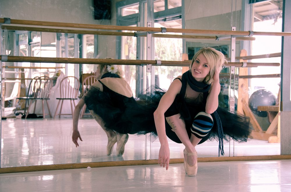 Adele at Yakima School of Ballet, 2011.