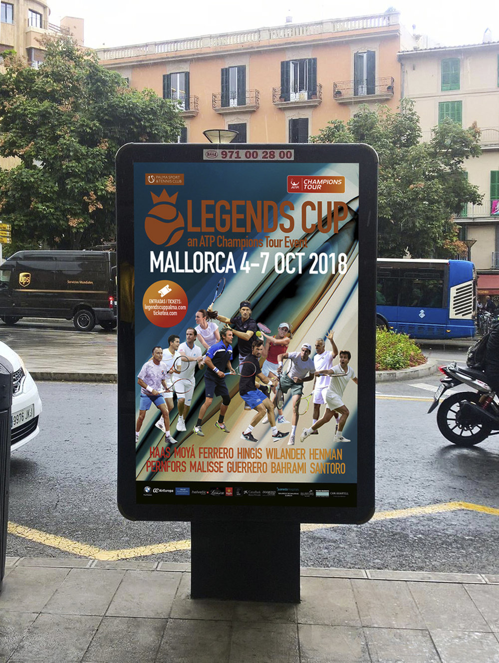 Outdoor marketing Legends Cup 2018