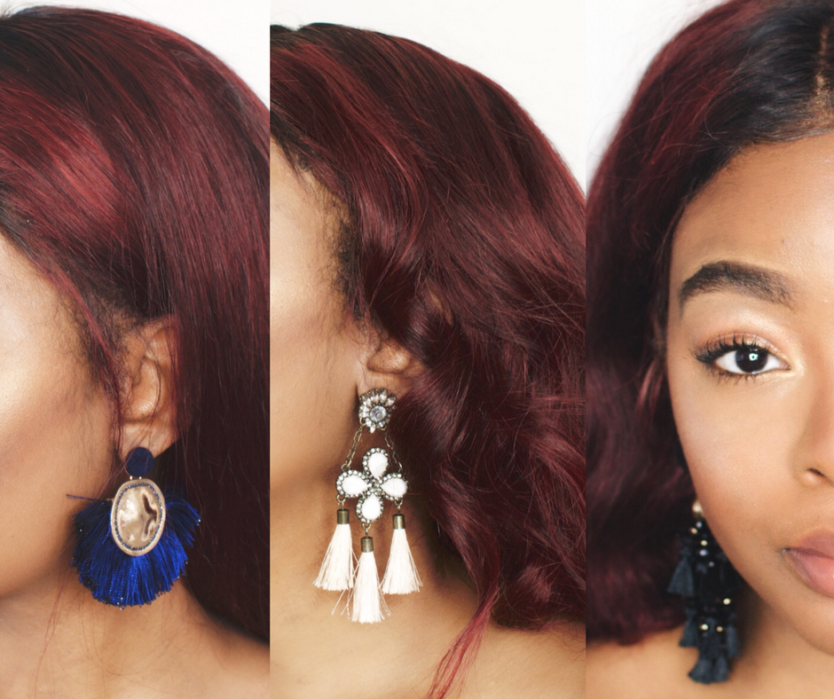 Fall Statement Earrings Accessories